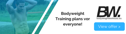 (free) bodyweight training plans for everyone